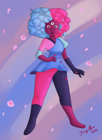 First Garnet by OminousMoonBlast