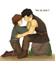 Arya x Gendry by kimpertinent