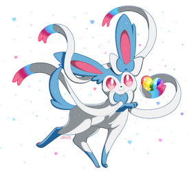 Shiny Sylveon by Willow-Pendragon