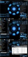 Iron Man Theme For Windows 7 by wallybescotty