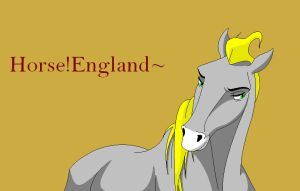 Horse!England by BurntScones