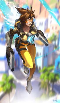TRACER overwatch by Jan-ilu