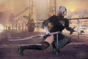 2B Nier Automata - Cosplay by pink-hika