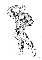 Colossus Beefcake by BevisMusson