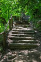 Stone Stairs by Mooseushi
