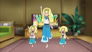 Lana and her Little Sisters Dancing by WillDynamo55