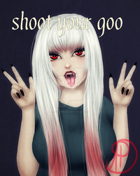 Shoot your goo by ArcticPoison