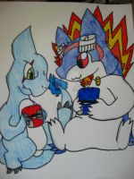 Frost and Flo by Kyrifian