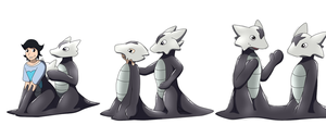 Alolan Marowak Cloning goo TF by Avianine