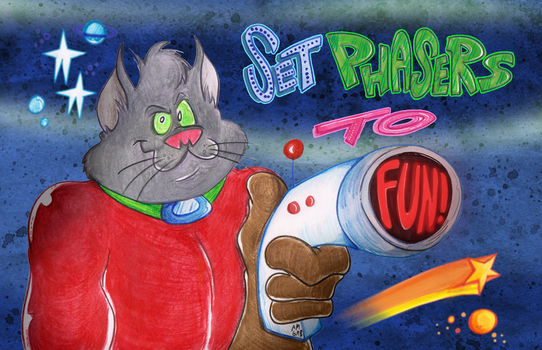 Set Phasers to FUN! by Granitoons