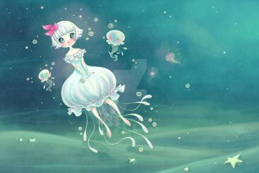 Little Jellyfish by Chpi