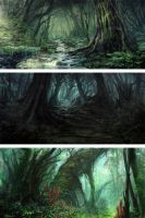 Forest Environment by Eru17