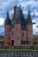 Entered the castle1 of Carrouge Orne France by hubert61