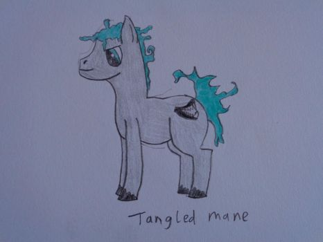 Tangled mane by woodywoodwood