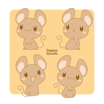Kawaii Mouse by Daieny