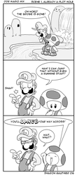 DDR Mario Mix plot hole by SoVeryUnofficial