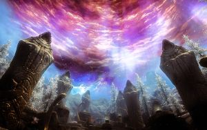 Sovngarde - Skyrim by WatchTheSkies45