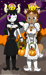 Whitnee and Samantha Bowsette and Boosette by teamlpsandacnl