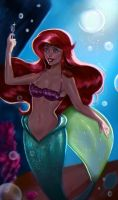 Ariel and the fork by Castonia