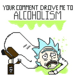Wasted Rick by AngelSketches