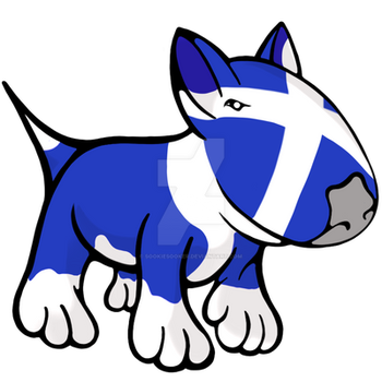 Scottish Bull Terrier by sookiesooker