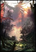 Jungle Fire by Multiimage