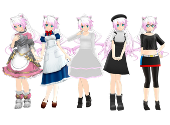 Nekami Shimiyo Pack - Download Is Up! by HaruLikesCarrots