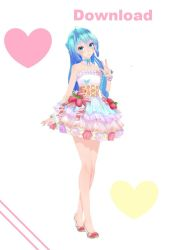 TDA Sweet Cake miku Update Dl by moyionma