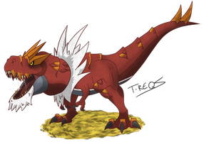 Tyrantrum by T-Reqs