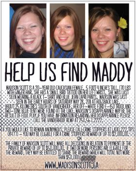 Help Find Madison Scott by TawmiePylon