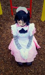 Maid Mettaton4 by Genocidal-Cosplay