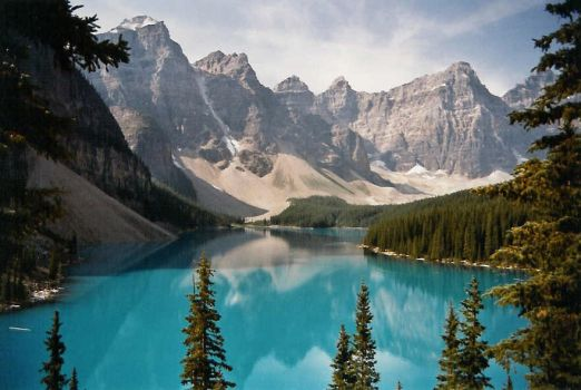 Moraine Lake Again by brizzledood