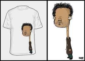Tired man t-shirt by JDog0601