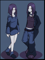 Casual Raven by chamzi