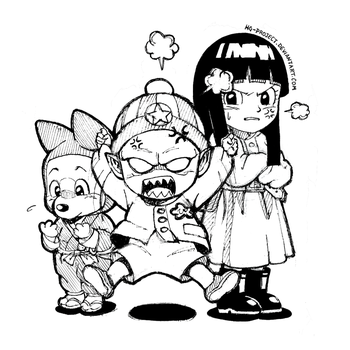 Inktober Day 3 - Mini Pilaf Gang by hg-project