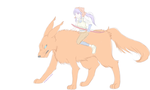 Wolf Rider by EverSnow