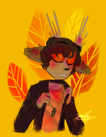 Autumn Boyfriends: Wearing His Jacket by CraftyPoptropican