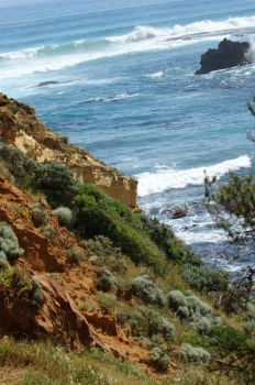 Childers Cove Cliffs by Whickender