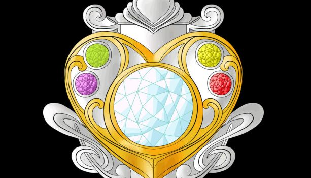 Suite Precure Unlimited Brooch by Ghost-Hunter157