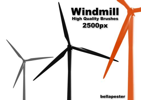 Windmill by bellapester