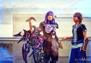 Caius and Noel Cosplay - Final Fantasy XIII LR by LeonChiroCosplayArt