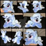 FOR SALE - MLP 6 inch mini Trixie Lulamoon beanie by RubioWolf