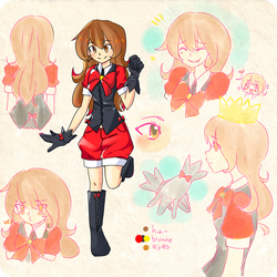 OC Lady - reference by Kairi-rin