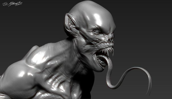 Grimm Season 3 ASWANG design model by JSMarantz