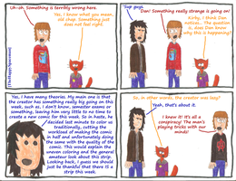 Dan Comics No.30 - Traditional by The-Happy-Spaceman