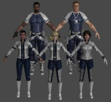 SHIELD Vendor Pack Marvel Heroes XNALara by Xelandis