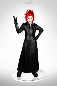 Kingdom Hearts 358/2 Days: Axel by JoviClaire