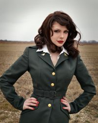 Agent Peggy Carter 4 by HannahEva
