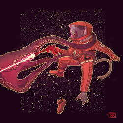 Space Baboon 2017 by Ryan-Rhodes