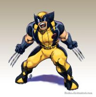 Colab:Lil Wolverine by JeanSinclairArts